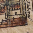 Mazain's Palace in 1650 (Gomboust's map)