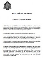 Charte documentaire